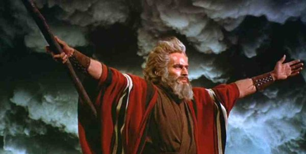 Moses in 'The Ten Commandments'
