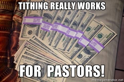 Tithing really works for Pastors!